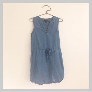 AS U WISH Distressed Denim Dress